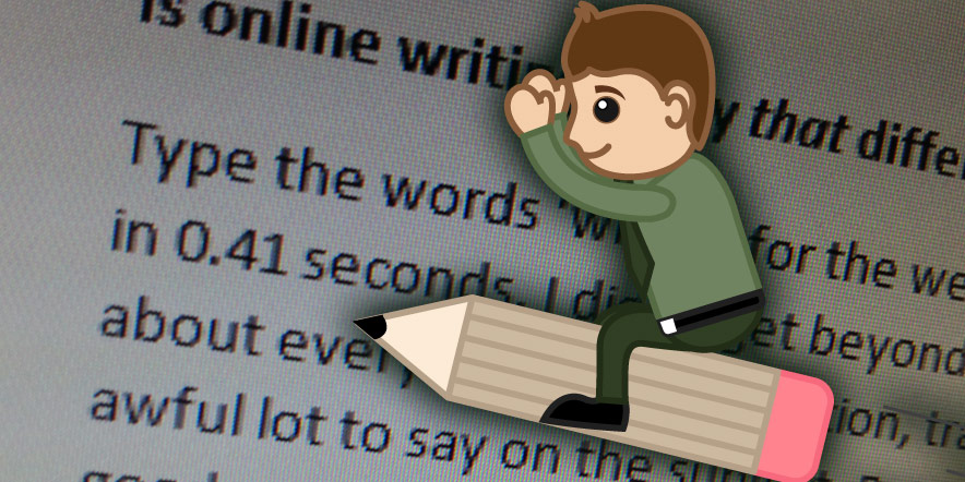 Is online writing really that different?